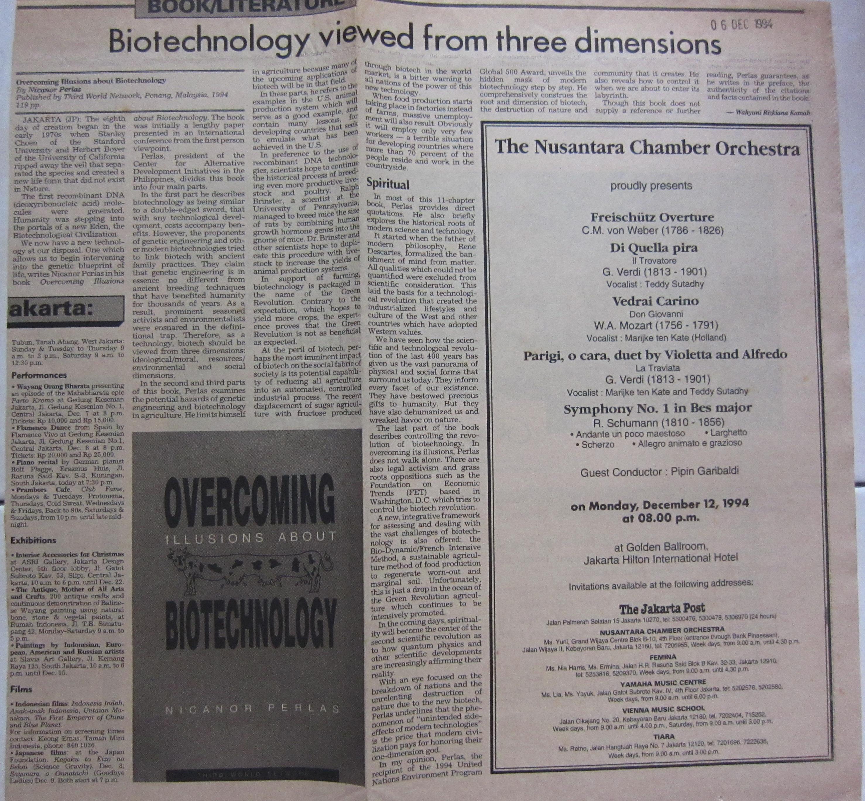 1994 Dec 6-TJP-Biotech views from three dimensions
