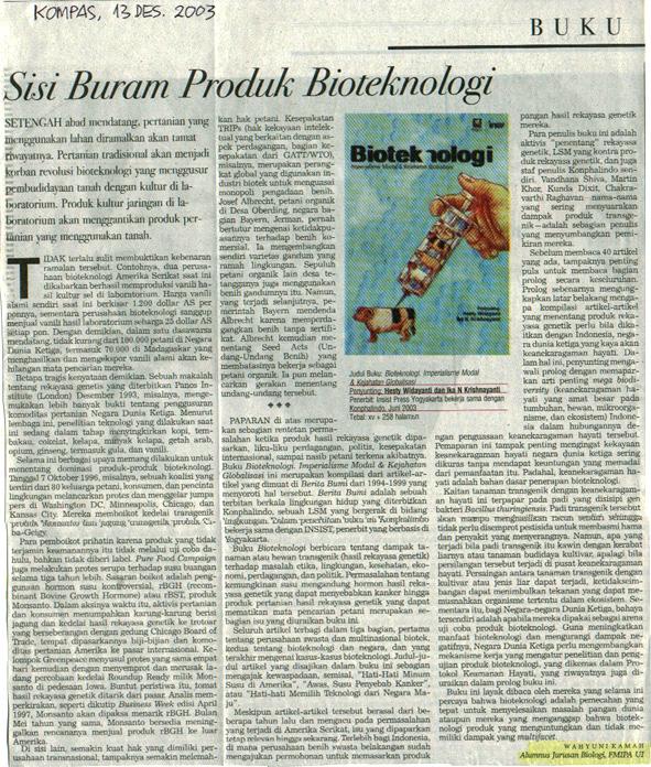 Kompas Des 13 2003-Sisi-Buram-Produk-3Bioteknologi